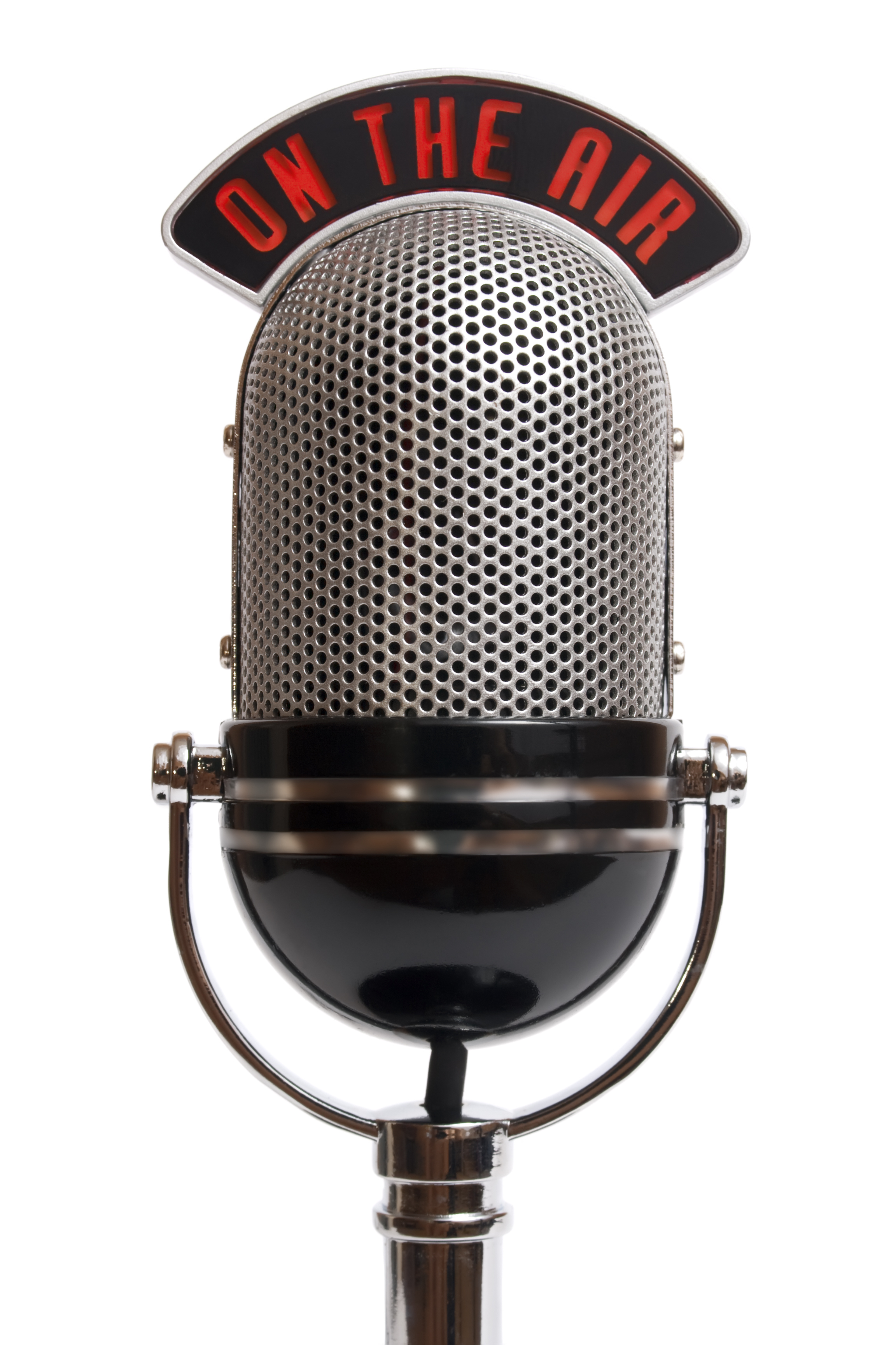 Old Fashioned Microphone Name